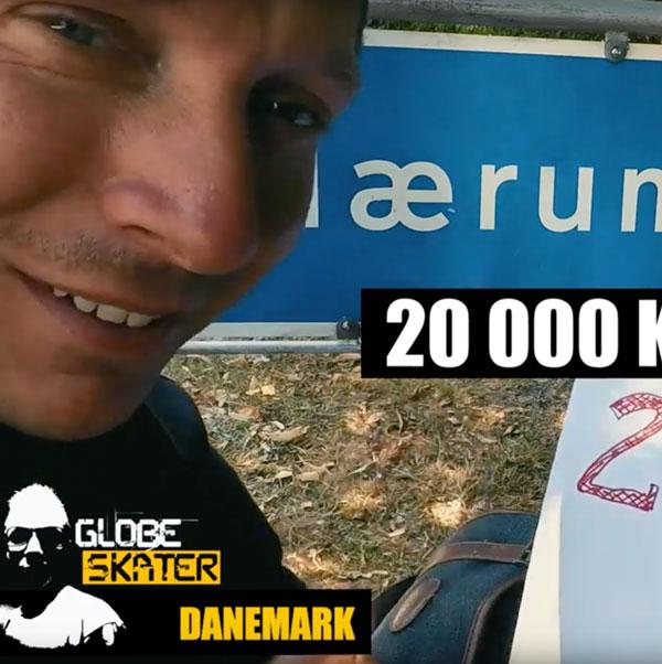 GlobeSkater, 20 000 km